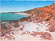 Big Wide Land | Red Bluff Shark Bay. Drawing size 57 cm x 76 cm